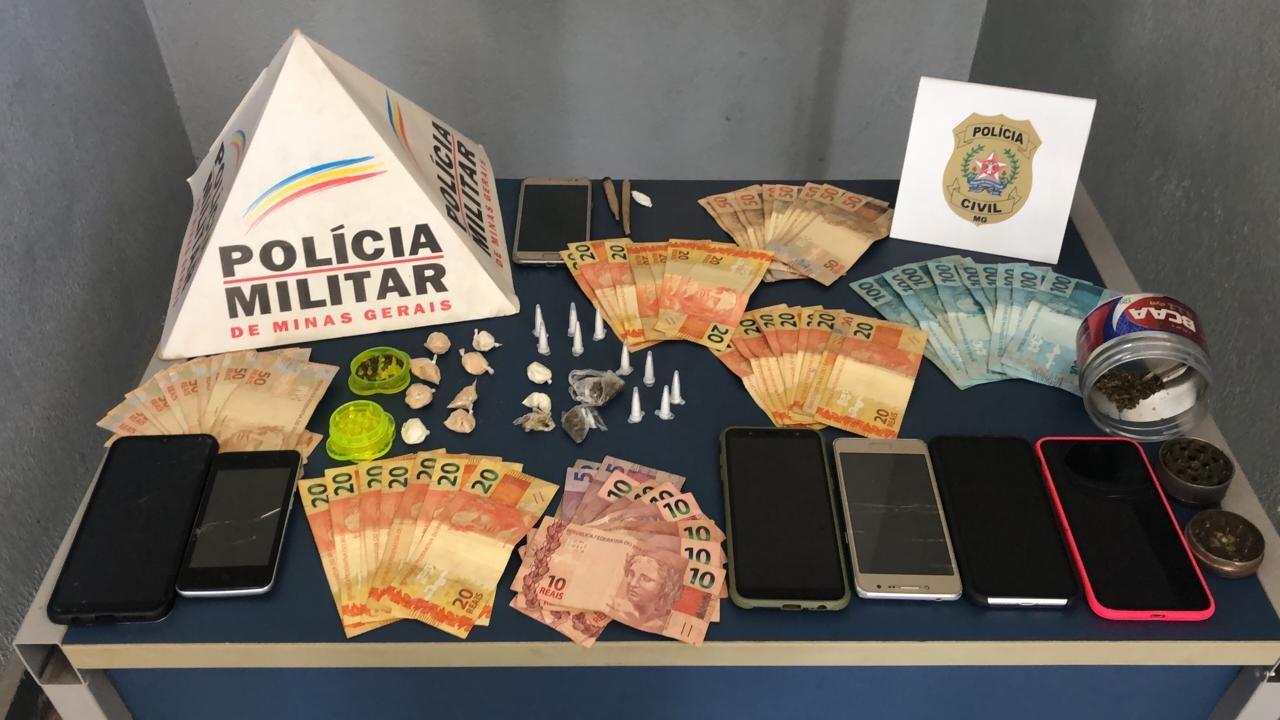 Polícia Civil prende suspeitos de tráfico de drogas em Uberaba durante a Operação 'Narco Brasil'
