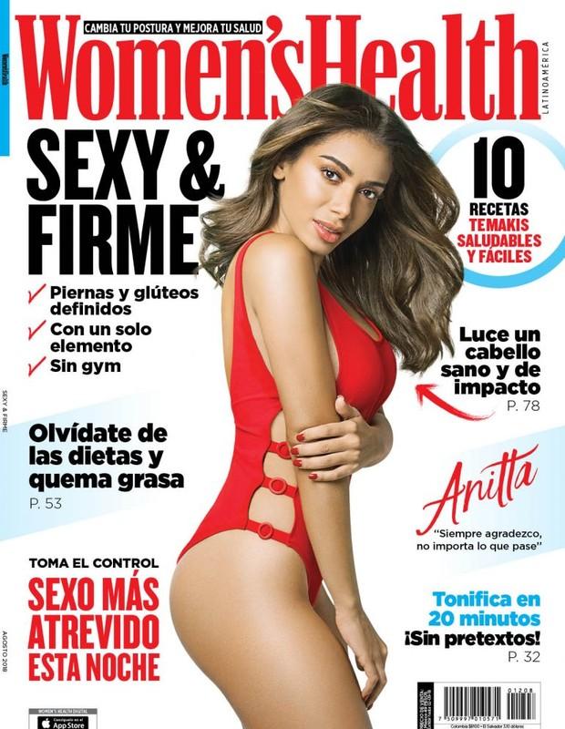 Anitta (Foto: Divulgação/Womens Health Mexico)