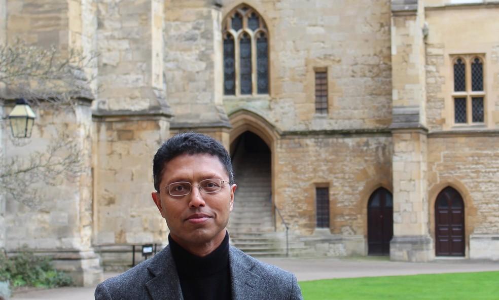 Professor de Oxford, Masud Husain  — Foto: Divulgação