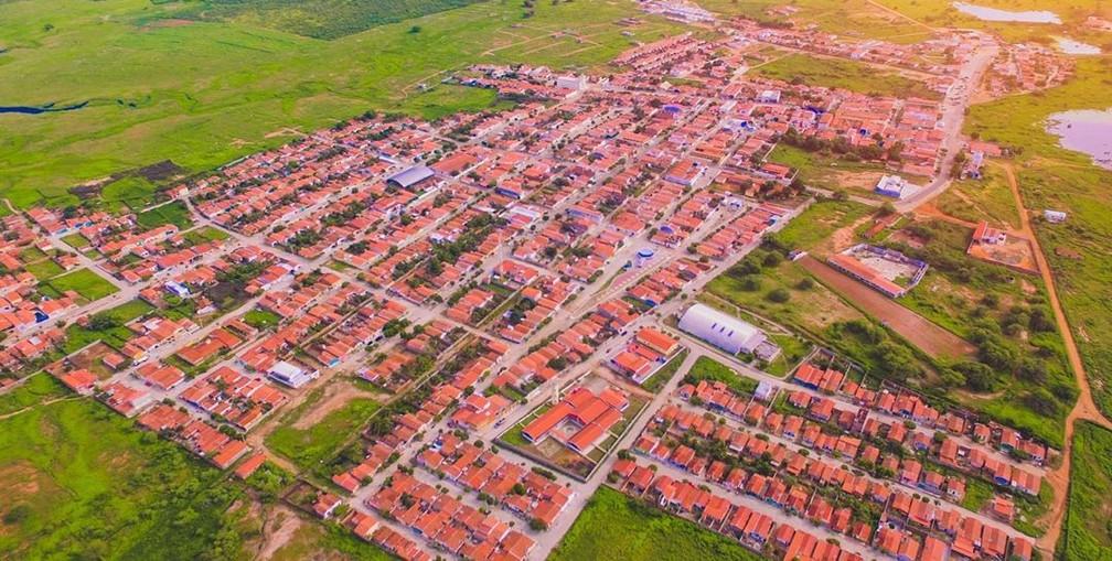 Município de Rodolfo Fernandes tem mudança de prefeito após dois meses de gestão, em 2021.  — Foto: Divulgação/Prefeitura de Rodolfo Fernandes