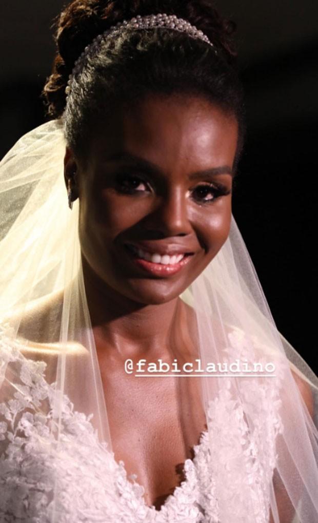 Fabiana Claudino (Foto: Flavia Vitoria Photo/Reprodução do Instagram)