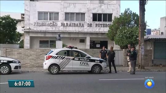 Operação Cartola investiga resultados manipulados no futebol da Paraíba e cumpre mandados