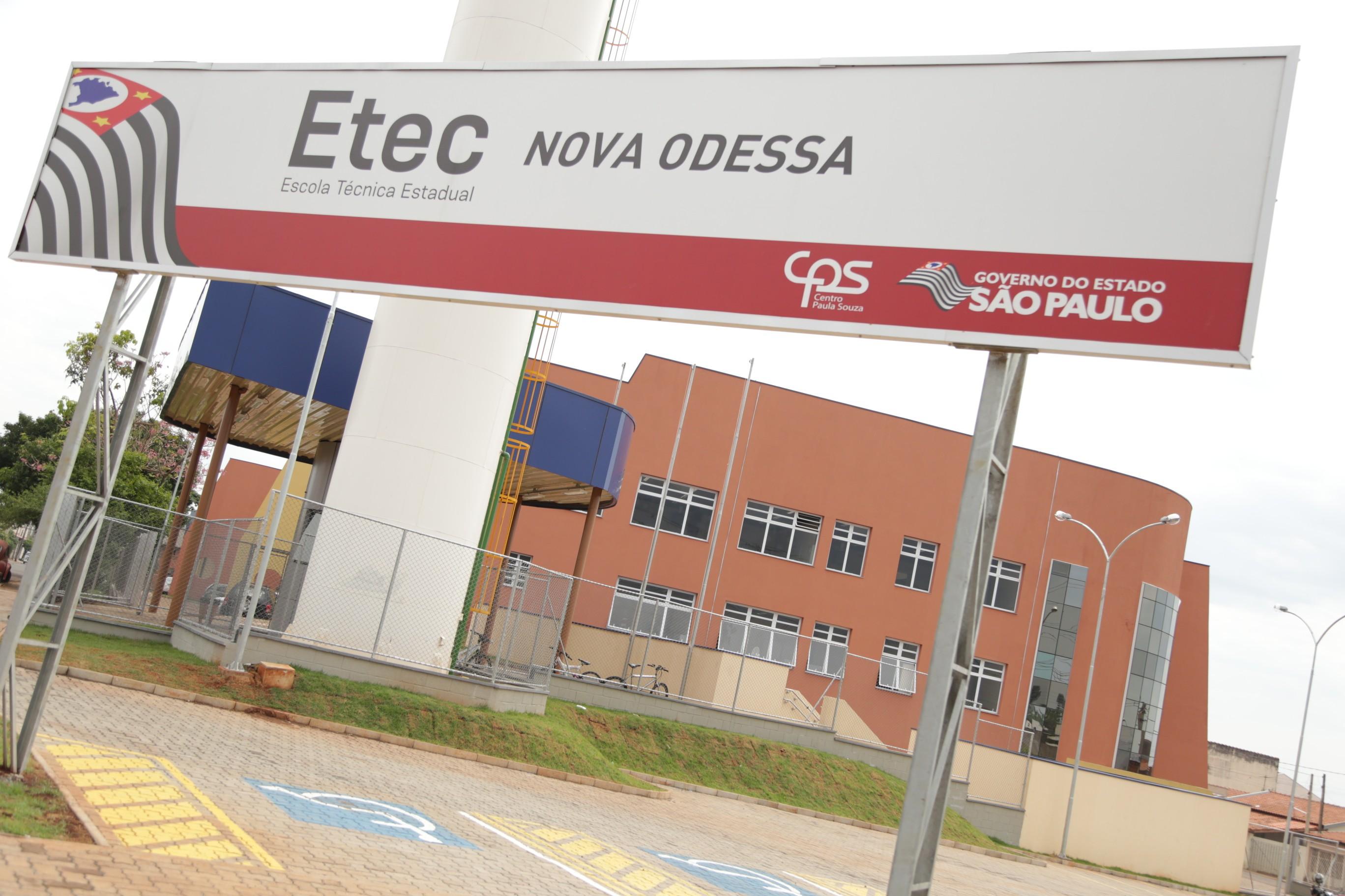 Etec de Nova Odessa abre processo seletivo para contratação de professores - Notícias - Plantão Diário