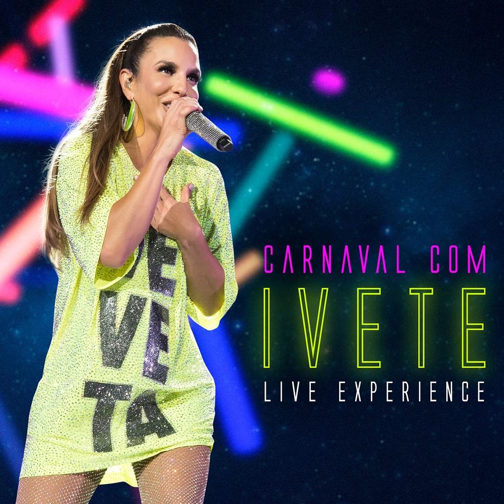 Capa do EP 'Carnaval com Ivete' — Foto: Divulgação