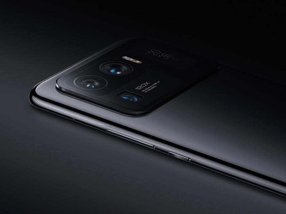 Tela extra também mostra condição da bateria, hora e outras informações — Foto: Divulgação/Xiaomi