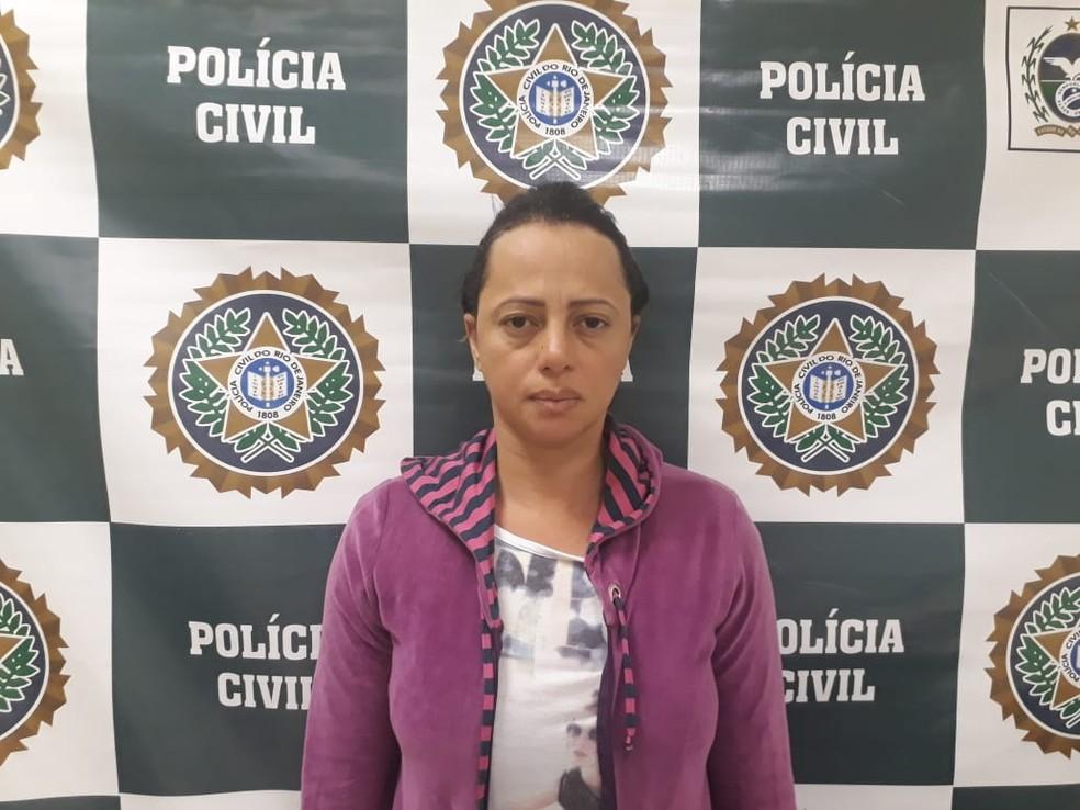 """""""Viúva da Mega-Sena"""" é presa (Foto: Divulgação/Polícia Civil)"""