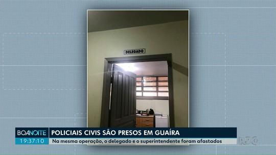 Gaeco prende policiais civis em Guaíra suspeitos de corrupção