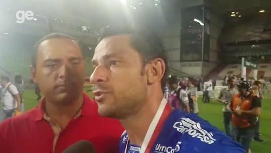 """Fred provoca presidente do Atlético-MG e fala sobre retorno ao Cruzeiro: """"Caí para cima"""""""