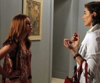 Marina Ruy Barbosa e Lilia Cabral em cena de 'Império' | Reprodução