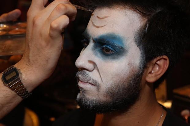 Halloween dso Copa 2018 oferece maquiadores para convidados (Foto: Reginaldo Teixeira/ Divulgação / CS Eventos)