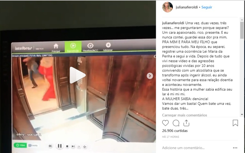 Blogueira baiana denunciou agressões que sofreu do marido em postagens nas redes sociais — Foto: Reprodução/Redes Sociais