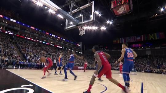 Rodada da NBA é marcada por heróis de último segundo e momentos de comédia pastelão