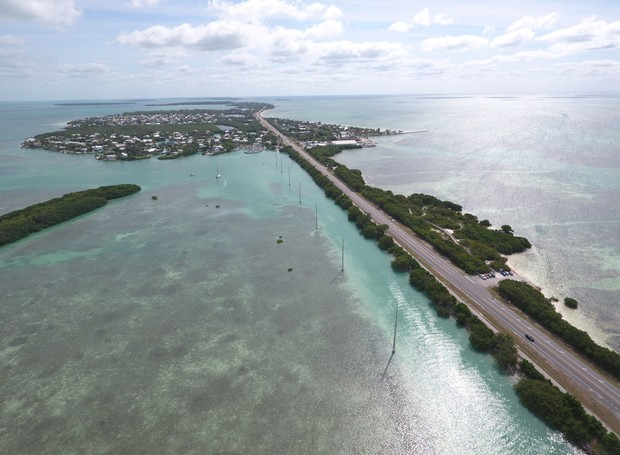 Overseas Highway, na Flórida (Foto: Thinkstock)