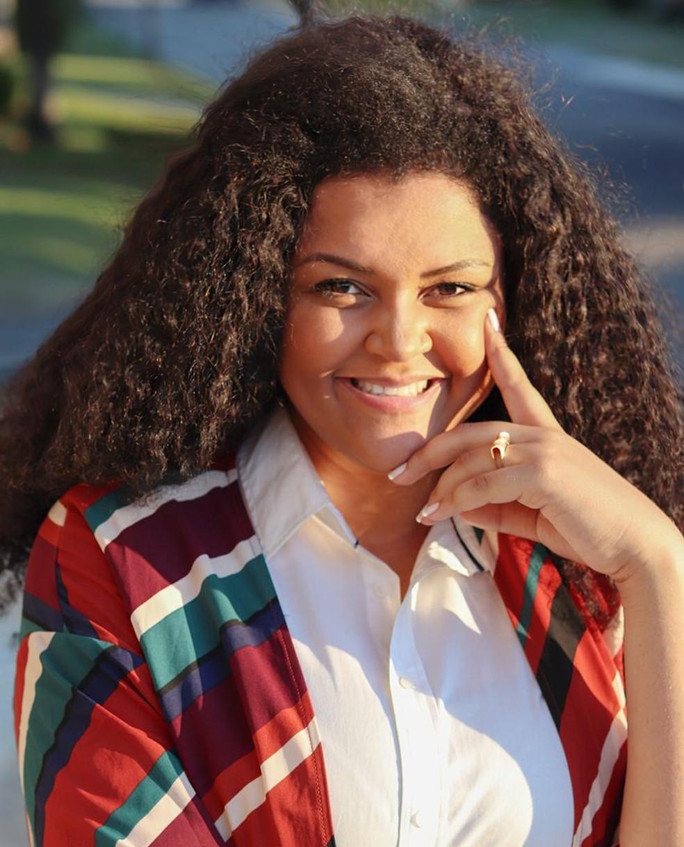Paula Oliveira, de Sorocaba (SP), criou o grupo EmPretos para facilitar a entrada dos negros no mercado de trabalho — Foto: Arquivo pessoal