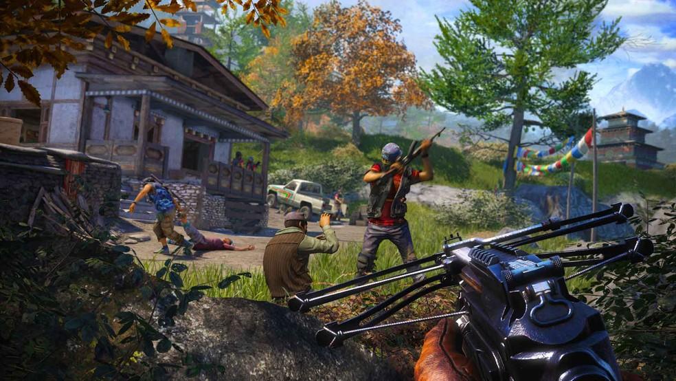 Far Cry 4 está em oferta na PSN (Foto: Divulgação/Ubisoft)