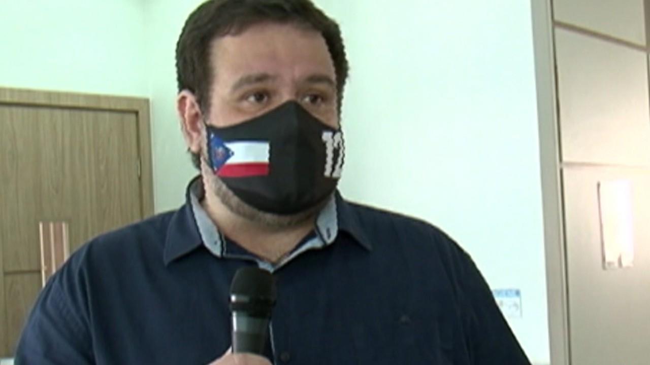 Candidato à Prefeitura de Mogi, Fred Costa participa de encontro com comerciantes