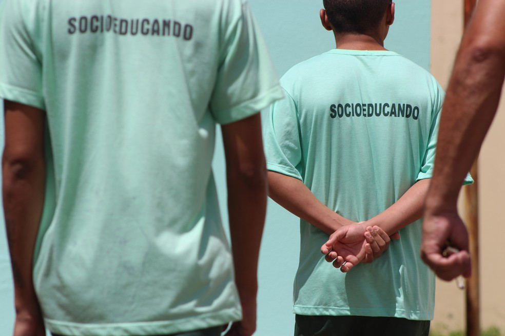 Jovens foram condenados a cumprir três anos de internação como medida socioeducativa — Foto: Fernando Brito/G1