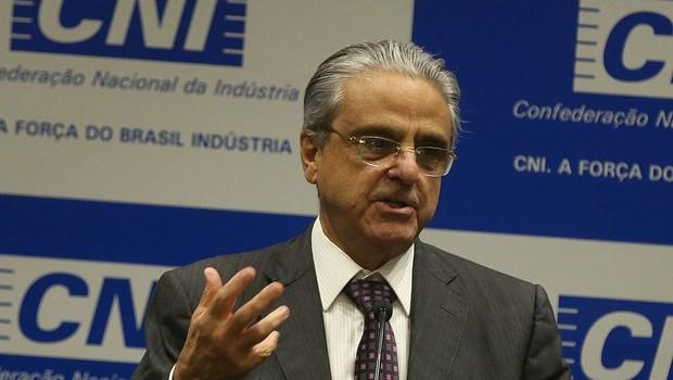 Robson Andrade, presidente da CNI  (Foto: Antônio Cruz/ Agência Brasil)