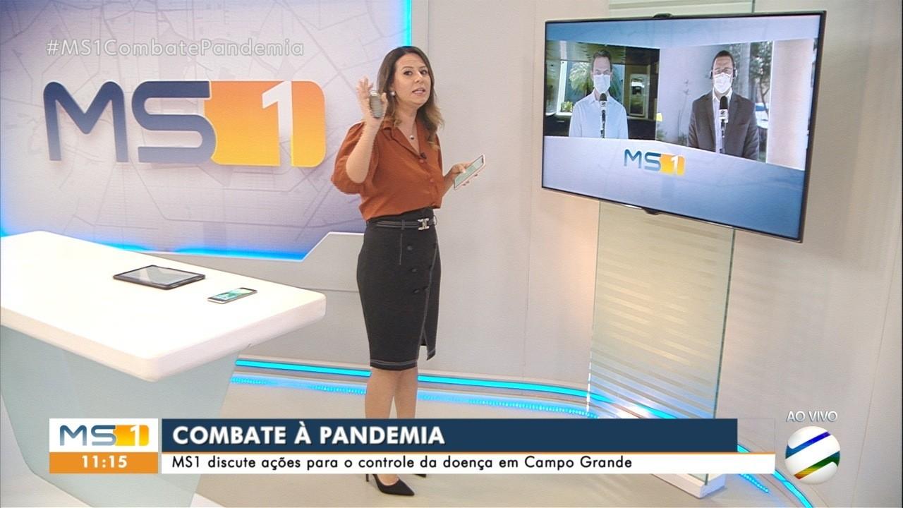 VÍDEOS: MS1 Campo Grande de segunda-feira, 13 de julho de 2020