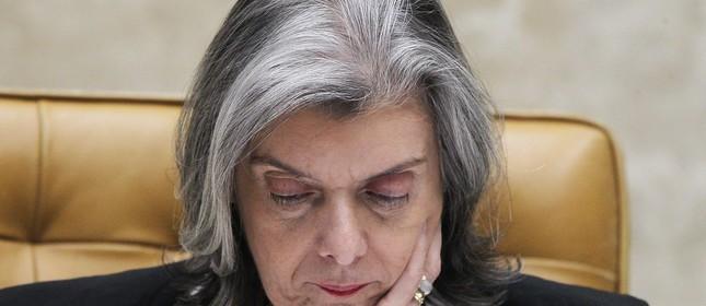 Presidente do STf, Cármen Lúcia
