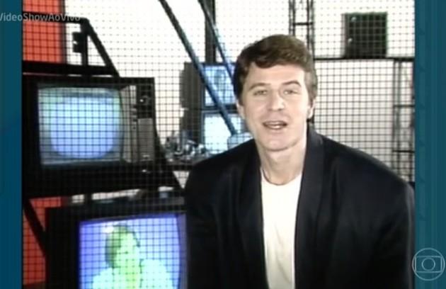 Miguel Falabella estreou no programa em 1987. Ele ficou à frente da atração durante 15 anos (Foto: TV Globo)