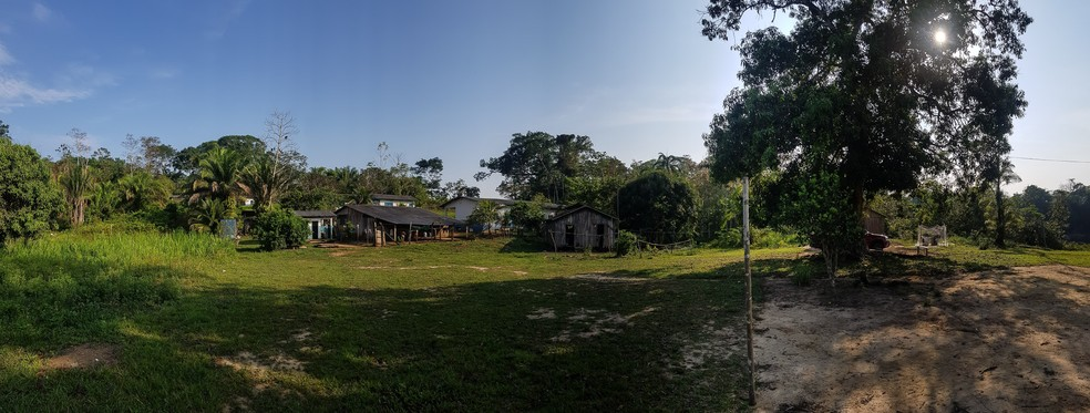 Aldeia Karipuna tem 153 mil hectares em Rondônia — Foto: Fábio Tito/G1