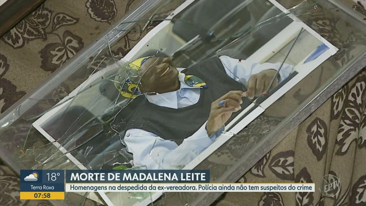 Madalena, ex-vereadora encontrada morta dentro de casa, recebe homenagens em Piracicaba