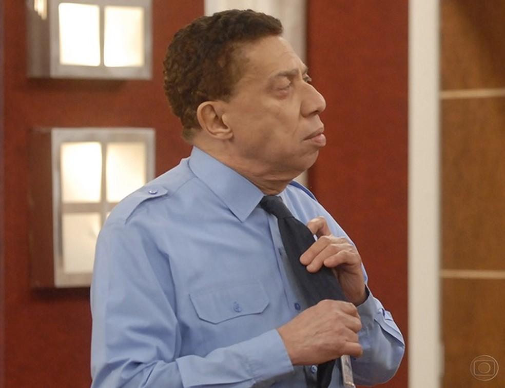 Paulo Silvino no Zorra Total, em 2010 (Foto: Blenda Gomes / TV Globo / Arquivo)