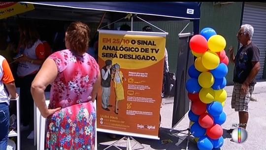 Feirão realizado em Maricá e Petrópolis, RJ, tem kits de TV digital com preços promocionais
