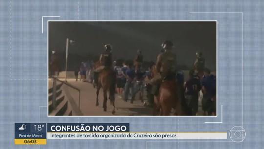 Torcedores do Cruzeiro são detidos por confusão no Mineirão