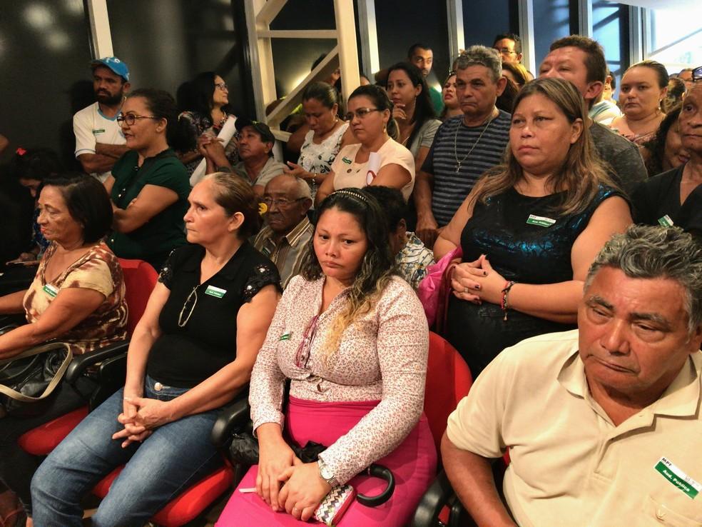 Famílias participam de reunião (Foto: MPF)