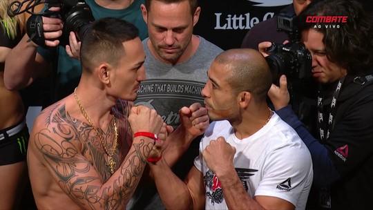 """Confiante em encarada, José Aldo promete """"atacar o tempo todo"""" no UFC 218"""