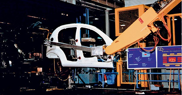 No fim dos anos 1990 a Chrysler desenvolveu um carro todo de plástico que poderia ter sido produzido no Brasil (Foto: Divulgação)