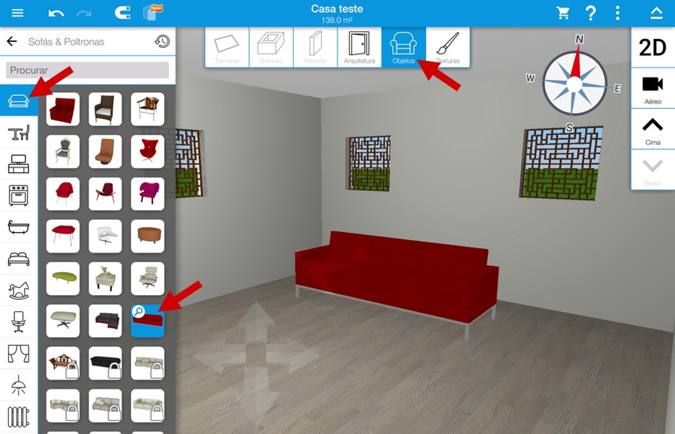 Aplicativo Para Fazer Plantas De Casas Em 3d Saiba Usar O Home Design Produtividade Techtudo