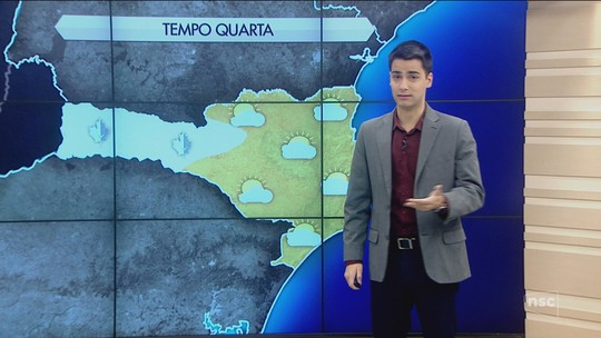 Temperaturas ficam negativas em cidades de SC; veja fotos da geada na Serra