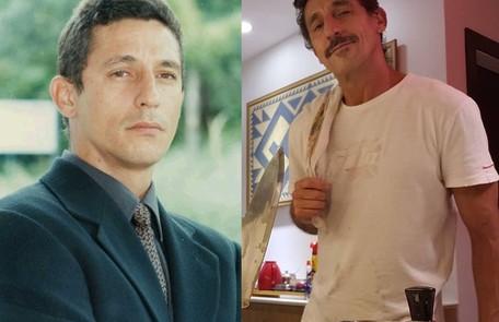 Tuca Andrada interpretou Danilo, ex-marido de Madalena que a perseguia. O ator está no elenco de 'Amor de mãe', suspensa por causa da pandemia TV Globo / Reprodução