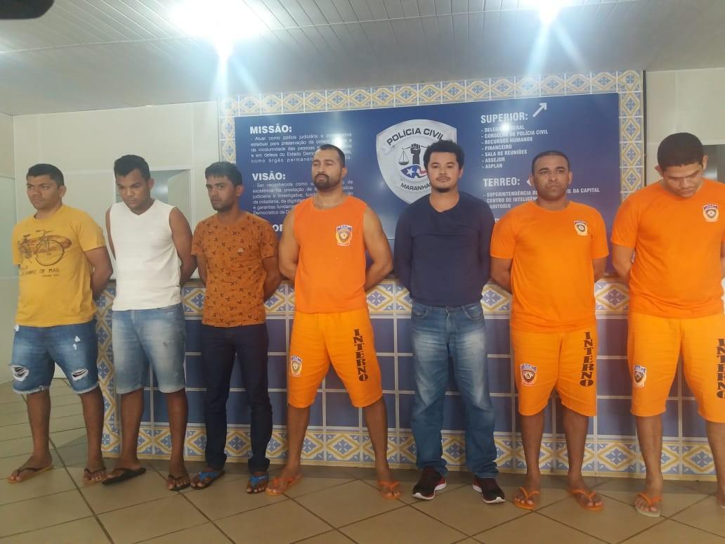 Polícia do Maranhão prende sete pessoas por aplicar golpes em políticos