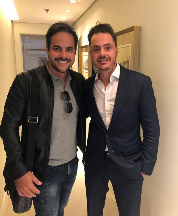 Kaká Diniz e Dr. Thiago Bianco (Foto: Divulgação)