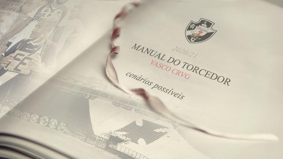 Manual do torcedor do Vasco contra o rebaixamento — Foto: Arte / ge