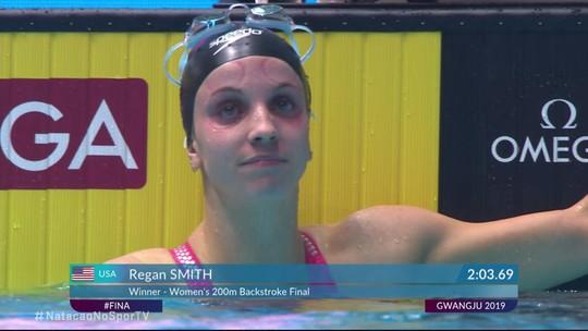 Regan Smith vence a final dos 200m costas feminino