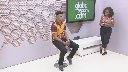 Bate-Papo GE: volante do Genus, Bibio,  fala sobre estreia do Aurigrená no Campeonato Rondoniense 2019