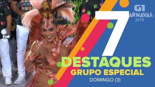 Viradouro, Salgueiro e Beija-Flor são destaques do 1º dia de desfiles no Rio