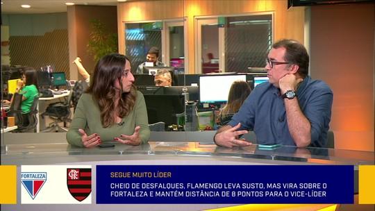 Comentaristas exaltam repertório e veem vitória sobre o Fortaleza a mais importante do Flamengo