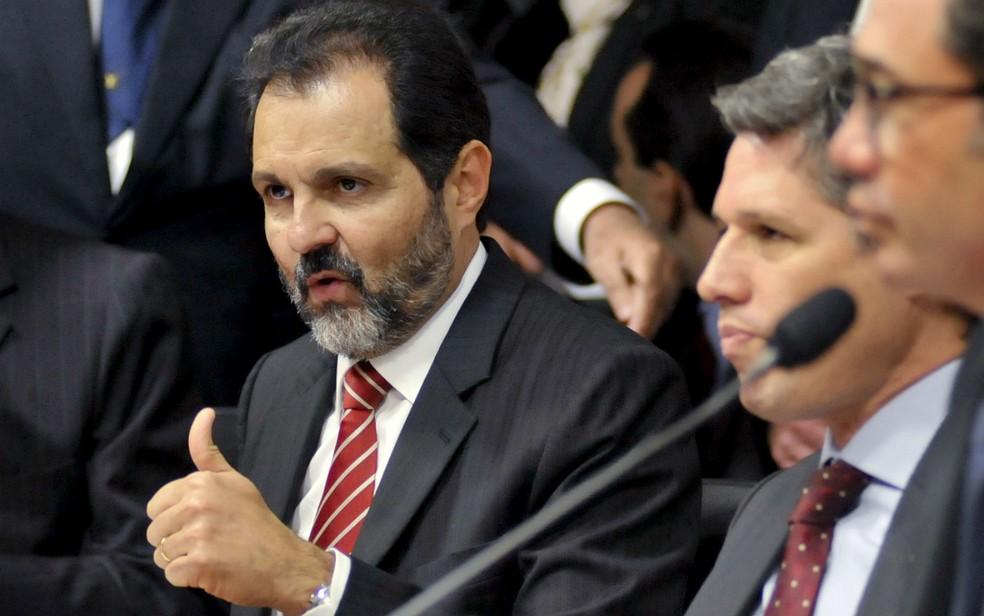 Agnelo Queiroz, ex-governador de Brasília e ex-senador, é condenado pro improbidade administrativa pela Justiça do DF — Foto: José Cruz/Agência Senado/Divulgação