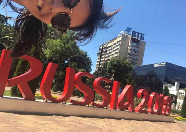Glenda Kozlowski, na Copa da Rússia (Foto: divulgação)