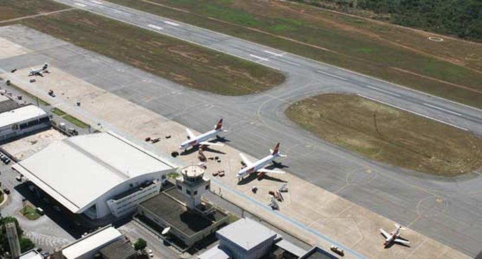 Pista do aeroporto Marechal Rondon (Foto: Assessoria/Infraero)