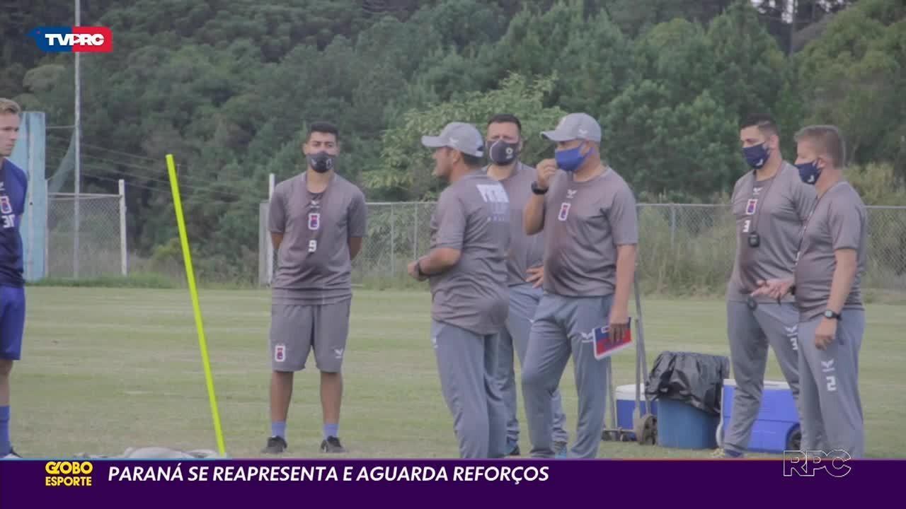 Sem tempo a perder: Paraná Clube se reapresenta para a temporada 2021