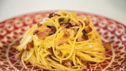 Espaguete à Carbonara do Joaquim Lopes