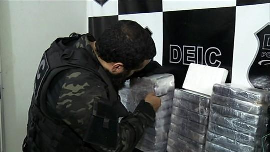 PF de Tocantins prende 28 em ação contra tráfico internacional de drogas