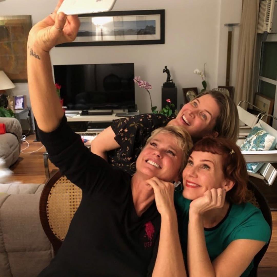 Xuxa e as ex-paquitas Andrea Veiga e Luise Wischermann (Foto: Reprodução / Instagram)